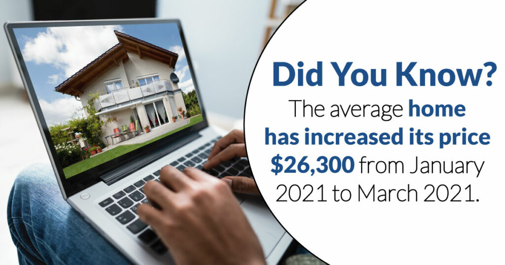 home price increases